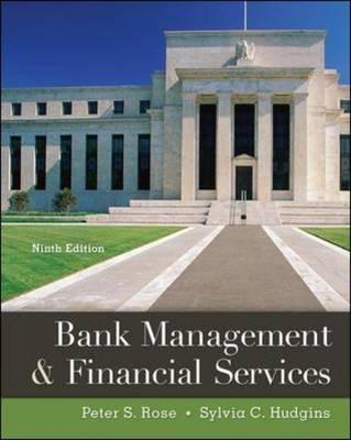 Bank Management & Financial Services By Rose, Peter/ Hudgins, Sylvia